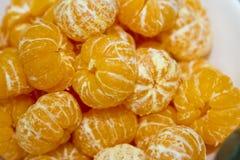 Cáscara de naranja muchas frutas Fotografía de archivo libre de regalías