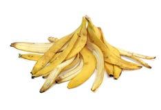 Cáscara de plátanos Fotografía de archivo libre de regalías