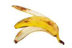 Cáscara del plátano imagenes de archivo