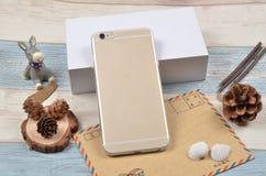 Cáscara del teléfono móvil Foto de archivo libre de regalías