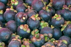 Cáscara dulce de la púrpura del gusto de las frutas tropicales Fotografía de archivo