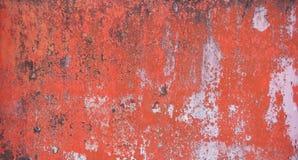 Cáscara y decaimiento del acero pintado Foto de archivo