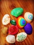 Cáscaras coloridas Fotografía de archivo libre de regalías