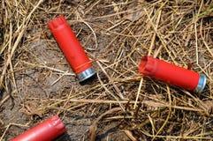 Cáscaras de escopeta Foto de archivo libre de regalías