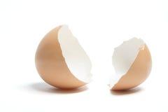 Cáscaras de huevo Imágenes de archivo libres de regalías