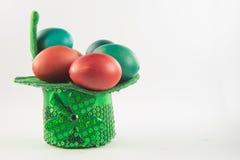 Cáscaras de huevo de DyedEaster Fotografía de archivo libre de regalías