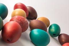 Cáscaras de huevo de Pascua Fotos de archivo