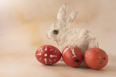 Cáscaras de huevo de Pascua Imagenes de archivo