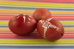 Cáscaras de huevo de Pascua Foto de archivo libre de regalías