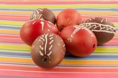 Cáscaras de huevo de Pascua Foto de archivo
