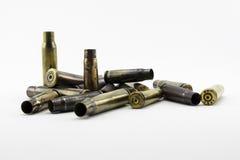 Cáscaras de las balas Imágenes de archivo libres de regalías
