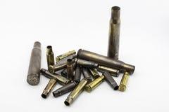Cáscaras de las balas Foto de archivo