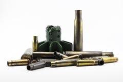 Cáscaras de las balas Fotografía de archivo libre de regalías