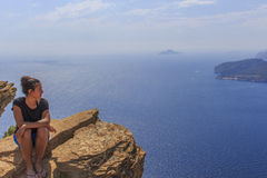 Cássis e o Cote d'Azur Fotografia de Stock