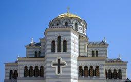 Cátedra de Vladimir. Sevastopol. Imagen de archivo