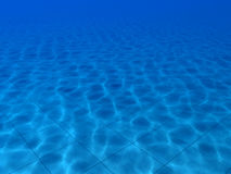 Cáusticos subaquáticos Imagens de Stock