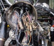 Câblage électrique Photographie stock libre de droits