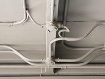 Câblage électrique intérieur aérien Photographie stock libre de droits