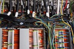 Câblage Photographie stock libre de droits