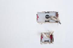 câblage Image stock