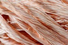 Câblage cuivre Photographie stock