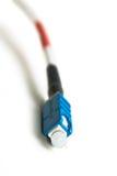 Câble à fibres optiques Photographie stock