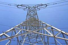 Câble à haute tension Photo libre de droits