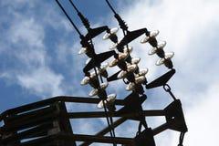 Câble à haute tension Images libres de droits