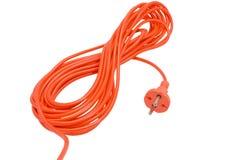 Câble électrique Photographie stock libre de droits