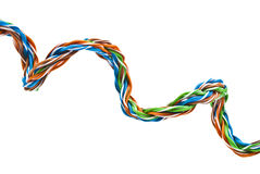 Câble électrique Images libres de droits