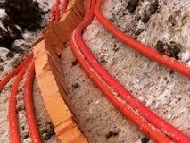 Câble électrique de fil Images libres de droits