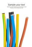 Câble électrique triphasé Images stock