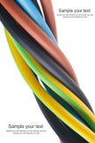Câble électrique triphasé Photos libres de droits