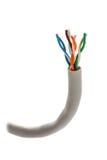 Câble coupé pour monter Photographie stock