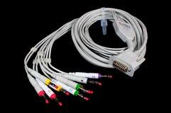 Câble d'ECG Image libre de droits