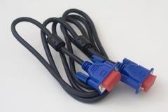 Câble d-secondaire noir image libre de droits