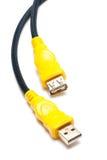 Câble d'USB Photographie stock libre de droits