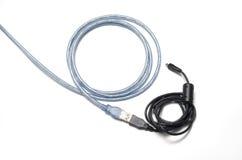 Câble d'USB Images stock