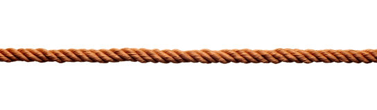 Câble de chaîne de caractères de cordon de tige de corde Images libres de droits