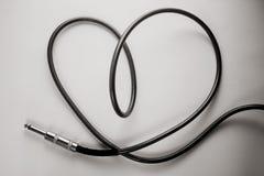 Câble de coeur Photos stock