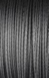 Câble de corde de fil d'acier Photos stock
