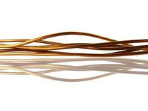 Câble de cuivre Photos libres de droits