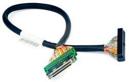 Câble de données de SCSI Photo libre de droits