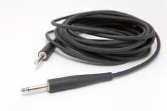 Câble de guitare Image stock