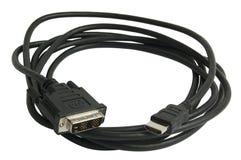 Câble de Hdmi Photo stock