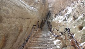 Câble de montagne Photo libre de droits