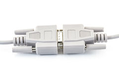 Câble de port Image stock