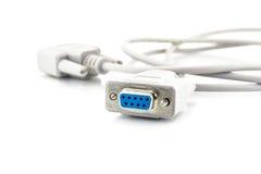 Câble de port Photos stock