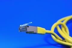 Câble de réseau Photos libres de droits