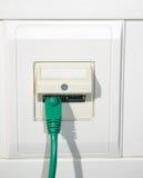 Câble de réseau Photo stock
